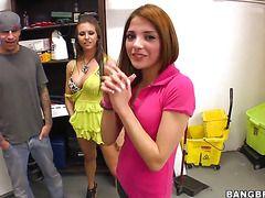 Порно видео молодые девушки попки